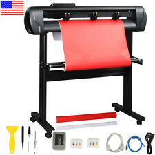 34 Vinyl Cutter Plotter Cutting Sign Machine For Diy Sign Withsoftware Amp Stand Us