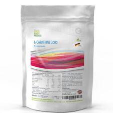 500 Tabletten (V) L-Carnitine-3000 Big Pack XL Stärkstes Carnitin Fatburner Diät