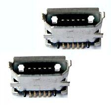 2x connecteur à souder micro USB type B / 2pcs Connector to solder SMT socket