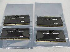 Kingston HyperX Predator Kit 4x 8GB DDR4 RAM Modules 32GB TOTAL HX426C13PBK4/32