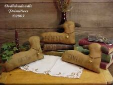 Primitive Lambs Holiday Table Sitter Topper Paper Pattern