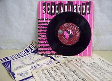Georges HAMEL Louis WINS Vinyle 45T LES BOUTONS D'OR - SCOLADISQUE N° 2051 RARE