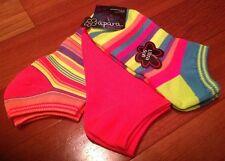 Summer Sale!  3 Apara Athletic Sport Lite Ultra Soft Socks,Women's Size 5-11