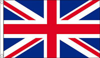 5' x 3' Union Jack British Team Flag Red White and Blue Banner