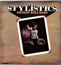 STYLISTICS ~ ROCKIN' ROLL BABY ~ 1973 UK 10-TRACK LP RECORD ~ AVCO 6466 012