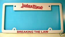 Judas Priest License Plate Frame Breaking The Law !