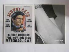 Johnny Cash 1 trading card dimensiones: 6cm x 8cm (jc TC 20)