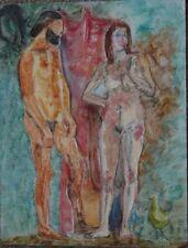 Peintures du XXe siècle et contemporaines sur panneau personnage pour Expressionnisme