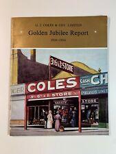 Vintage Australia - Coles Golden Jubilee Report 1914 - 1964