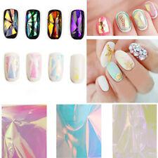 5 Farben Galaxy Nail Art Folie Nagelfolie Nägel Sticker Tip DIY Wrap Finger Gift