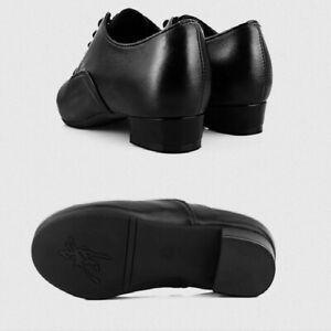 Garçons Latin Valse Tango Moderne Chaussures de Danse Hommes Tenue Souple Bas