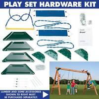 Swing-N-Slide Scout Custom Play Set - Hardware Kit