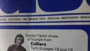 Birmingham City v Manchester United - 16 March 1974