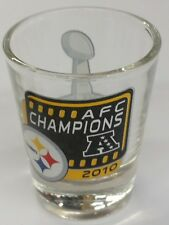 NFL Pittsburgh Steelers Shot Glass, NEW (AFC Champions)