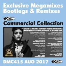 DMC Commercial Collection 415 Club Hits Mixes & Two Trackers DJ Double Music CD