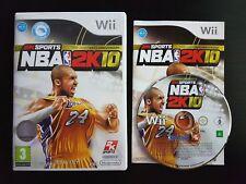 NBA 2K10 - Nintendo Wii / Wii U - PAL - Free, Fast P&P! - Basketball, 2010