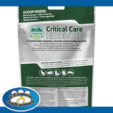 Oxbow Critical Care Alimentazione Assistita Per Erbivori Vari Formati