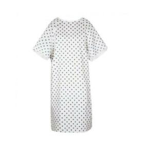 Hospital Patient Gown Medium weight Medical Exam Gown Hosp Grade *NEW* Free Ship