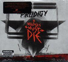 THE PRODIGY - Invaders Must Die - CD Album + Bonus DVD *NEW & SEALED* *Digipak*