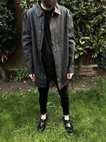Hunter mens M Ori R RUB raincoat Black rubberised L Large x