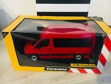 Cararama 1/24 1 24 VW Volkswagen Crafter Rosso Molto Raro