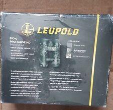 Leupold 10x50 BX-4 Pro Guide HD Binocular - Kryptek Typhon (new in sealed box)