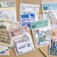 20 Sheet/set Vintage Paper Stickers DIY Scrapbooking Album Diary Craft SALE