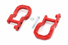 Rough Country Forged Red Tow Hooks for 2014-2018 Chevy Silverado 1500 - RS134