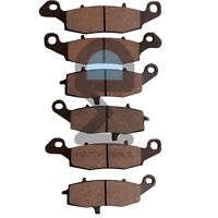 FRONT REAR BRAKE PADS FOR KAWASAKI ZR750 ZR-7 1999-2001 / ZR750 ZR-7S 2001-2005