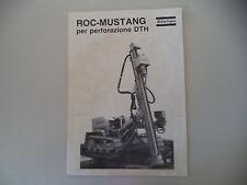 - CATALOGO DEPLIANT BROCHURE ATLAS COPCO ROC MUSTANG - ANNI 70/80