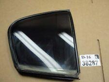 07 08 G35 sedan right passenger Rear door small quarter vent glass window Oem