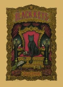 Black Keys -Blacklight Poster- Fantasy Poster -Poster Print