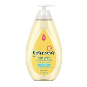 Johnson's Head-to-Toe Baby Wash and Shampoo, 27.1 Fl. Oz.