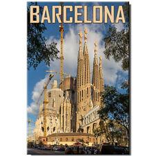 Fridge magnet Barcelona Spain Sagrada Familia