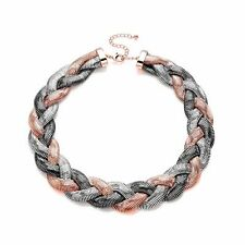 Women  Standout  Chunky Plaited Bold Necklace