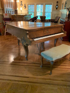 Antique Vintage WILLIAM KNABE Baby Grand Piano - Nice Condition!