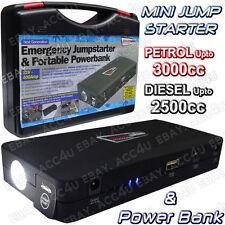 12v 400a compacto pequeño de emergencia portátil coche batería Jump Starter & Power Pack