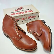 1980s Red Wing Boots 565 Leather DeadStock Vintage Nos Usa Made 16D Work 90s Og
