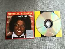 Michael Jackson Rock With You  Dual CD / DVD  Single Card Sleeve