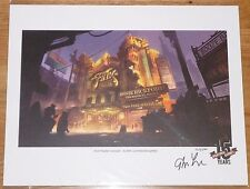 BioShock Infinite 15 Years 15th Anniversary Lithograph Irrational Games New Rare