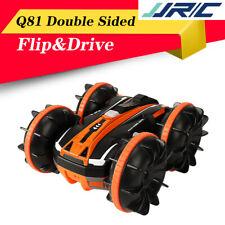 JJRC Q81 1:20 2.4G 2-in-1 2-Sided Stunt Amphibious 360° Rotation RC Vehicle Car