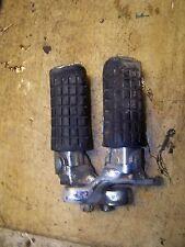 1984 Honda CB650 CB 650 SC Nighthawk Front Foot Pegs