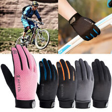 Outdoor Cycling Full Finger Glove Sports Anti Slip Breathable Motorcycle Gloves