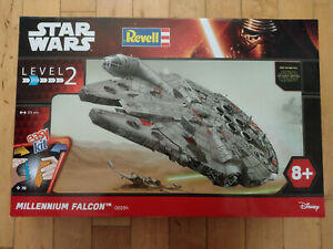REVELL STAR WARS MILLENNIUM FALCON PLASTIC MODEL KIT BRAND NEW NIB No 06694 LOW£