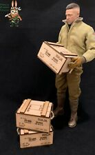1/6 scale crate box WWII United States (Set of 3) for 1/6 diorama and vehicle