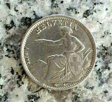 1/2 Franken 1850 A Silbermünze Schweiz - selten !