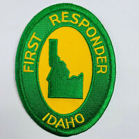 Idaho First Responder Police Fire EMS EMT Ambulance ID Patch (A8)