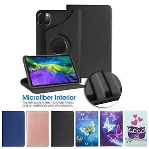 """Leather 360 Rotating Smart Case Cover For Apple iPad Pro 10.5"""" 11"""" 10.2"""" 2020"""