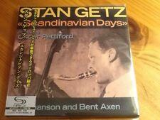 """Stan Getz """"Scandinavian Days"""" mini lp japan shm cd , out of print"""