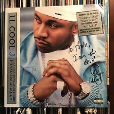 LL COOL J autograph LP GOAT  MINT VINYL 2-RECORD Set SIGNED : I Am The Devil